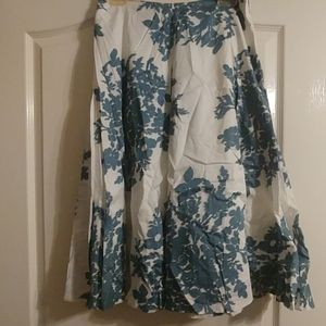 Gap TEAL full skirt